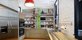 jersey city townhouse renovation pavonia kitchen