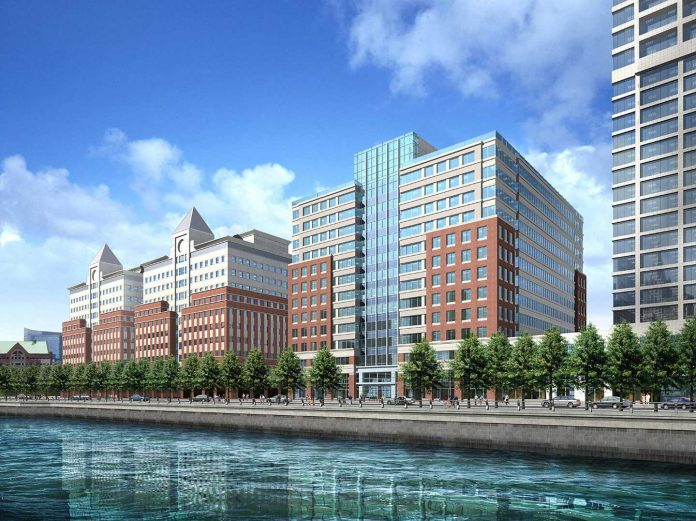 hoboken waterfront corporate center stake sold