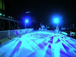 ice skating rink hoboken viaduct