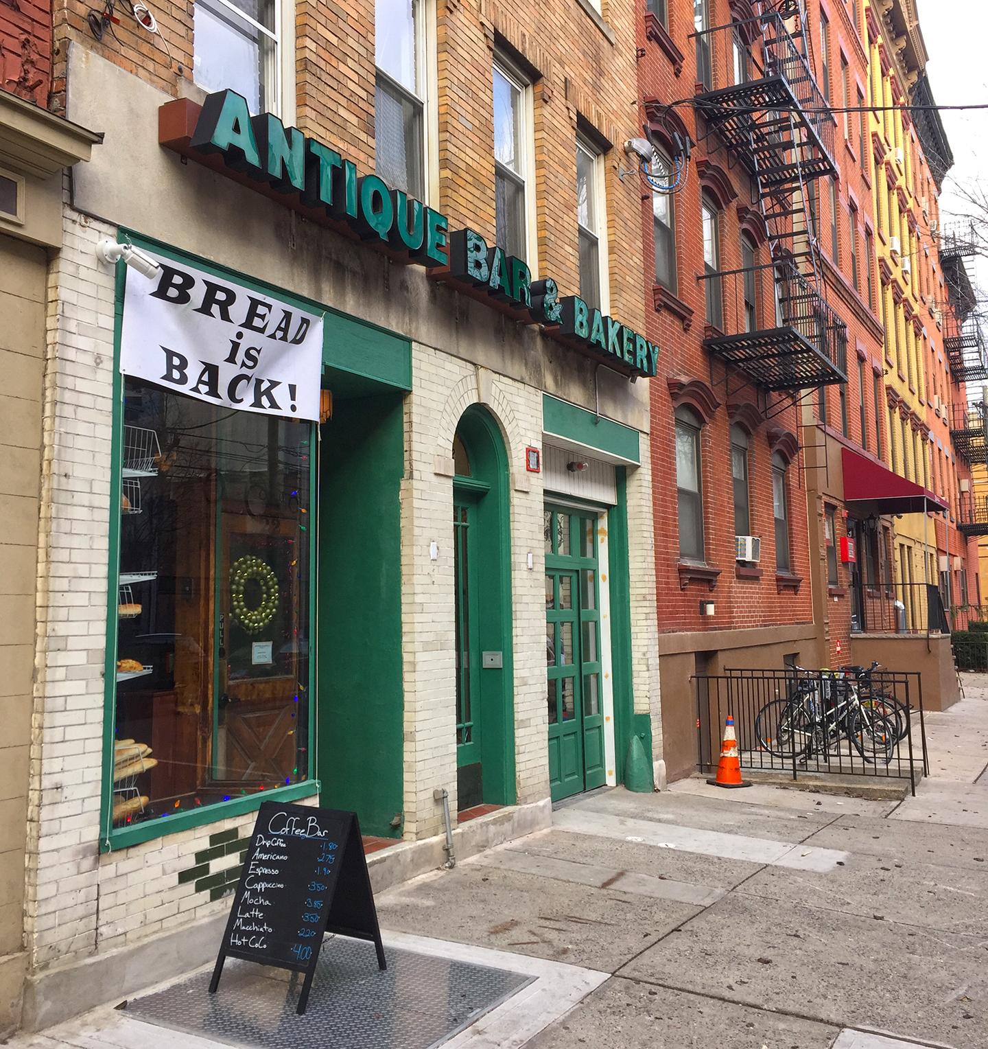 antique bar bakery hoboken