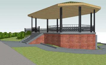 riverview park jersey city heights real estate gazebo
