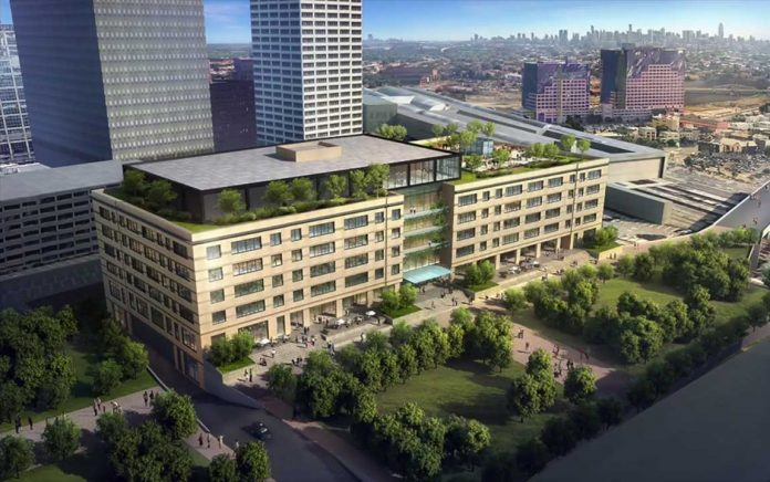 the newark warehouse 110 edison place rendering