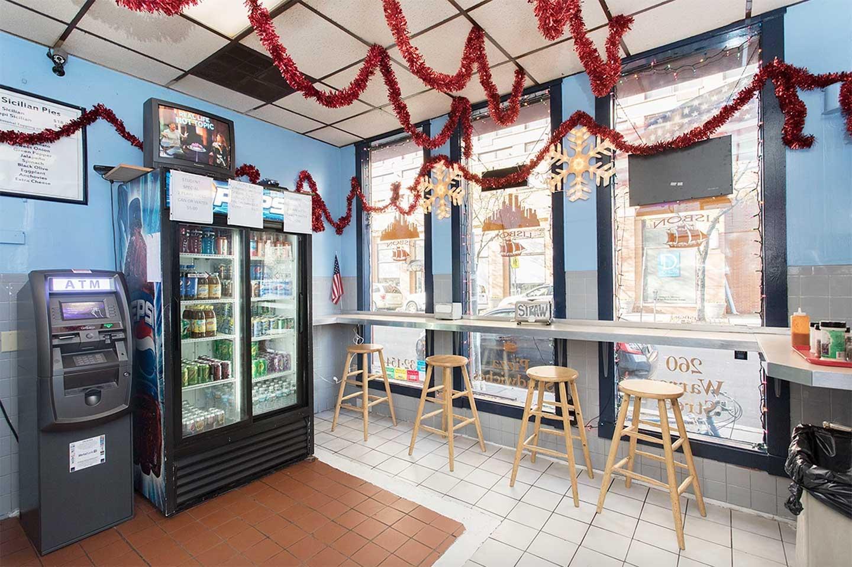 lisbon pizza 260 warren st jersey city for sale interior