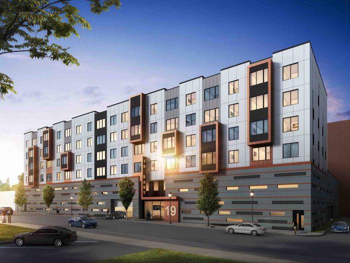 19 east 19th street ingerman apartments bayonne rendering