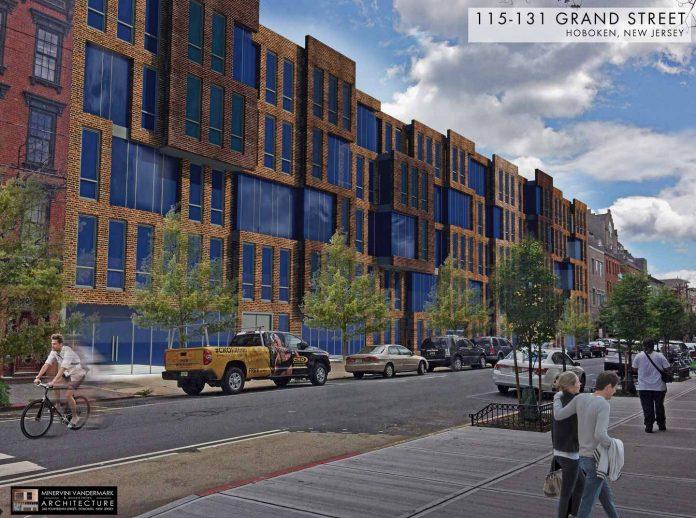 115 grand st hoboken rendering