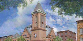 901 bloomfield baptist church hoboken rendering