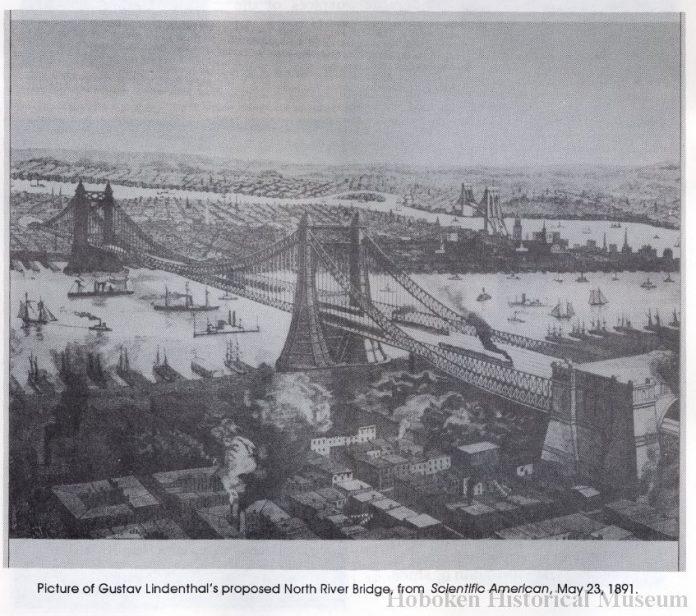 north river bridge hoboken