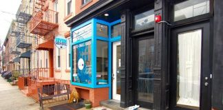 seven sheep coffee 342 7th st jersey city exterior