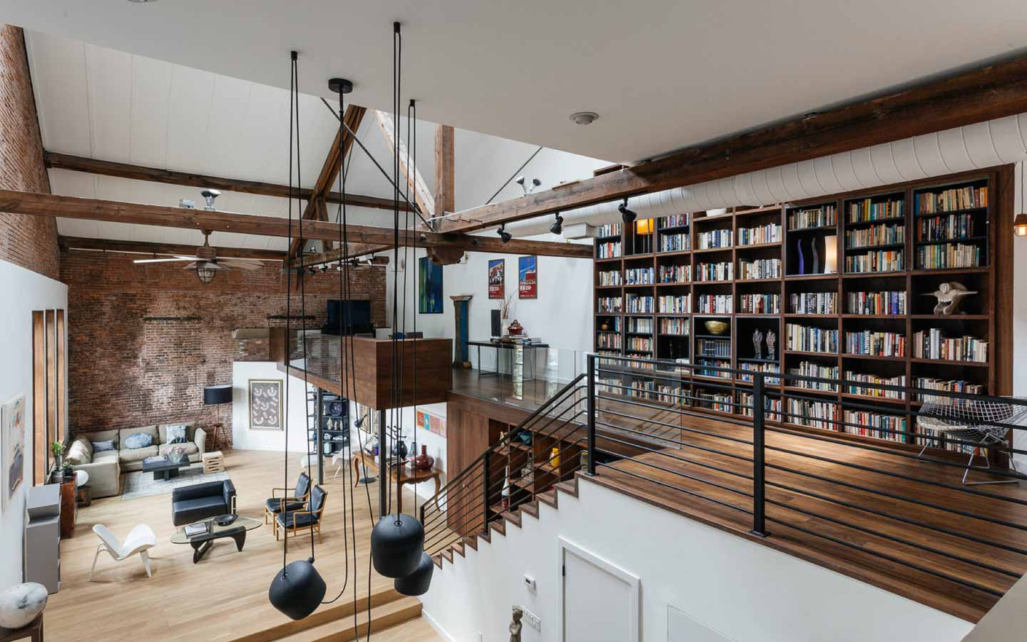 Jersey digs exclusive wells fargo loft with 45 39 ceilings for Lofts in nyc for sale
