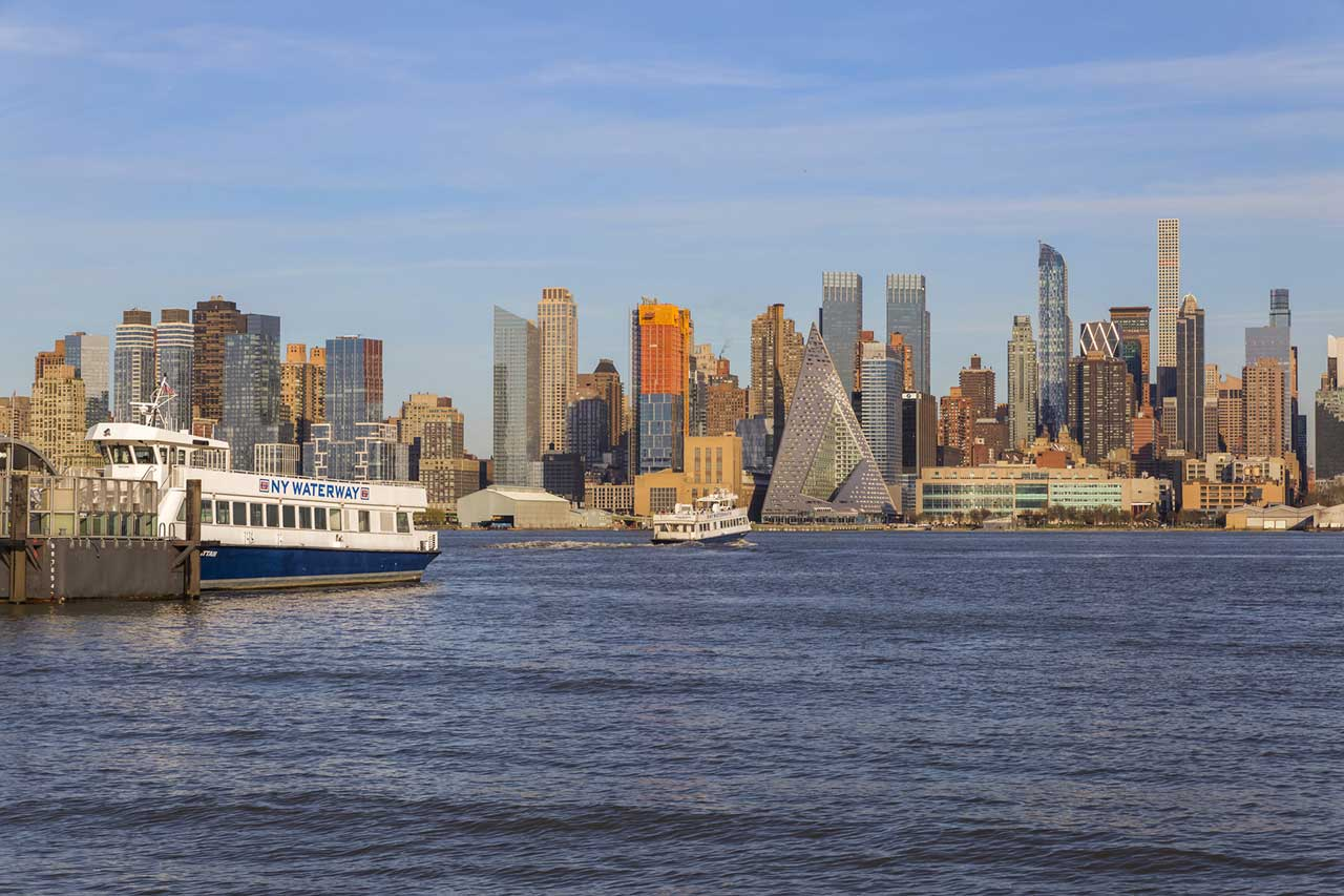 Avora Port Imperial Weehawken Ferry