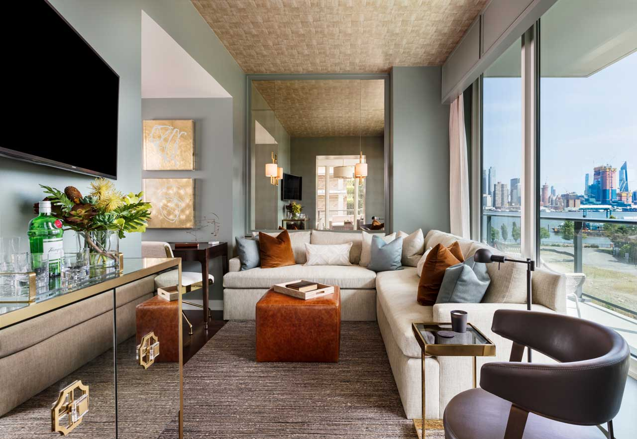 1200 Avenue At Port Imperial Weehawken Living Room